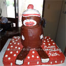 Sock Monkey Birthday Cakes
