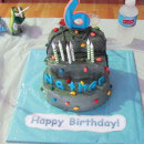 Rock and Mountain Climbing Birthday Cakes