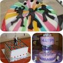 70s Theme Birthday Cakes