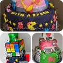 80s Theme Birthday Cakes