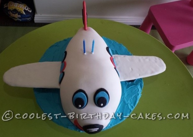 Coolest Airplane Birthday Cake