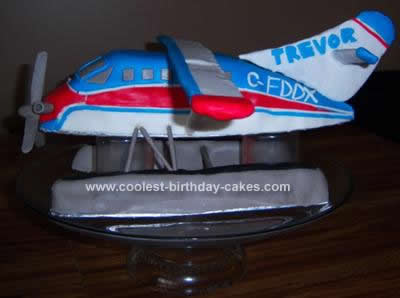 Coolest Turbo Otter Float Plane Birthday Cake