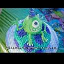 Monsters Inc Birthday Cakes