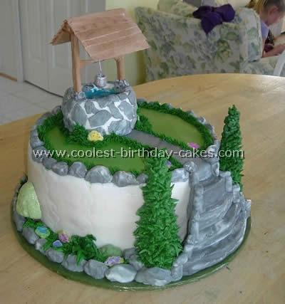 Wishing Well Cake
