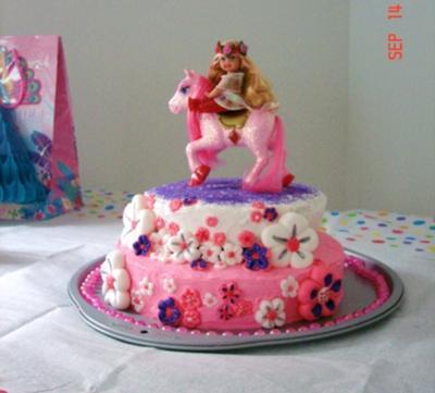 Amberlie's 3rd Birthday Cake by Aspen Garfield