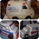 Ambulances Birthday Cakes