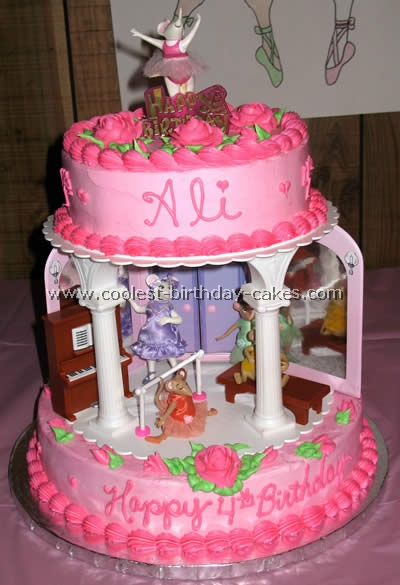 Angelina Ballerina Birthday Cake