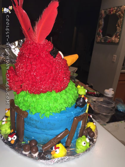 Awesome Angry Birds Cake