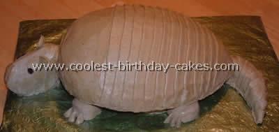 Armadillo Cake Photo