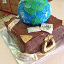 Earth Birthday Cakes