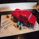 Auto Mechanic Birthday Cakes