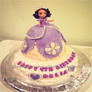 Sofia the First Birthday Cakes