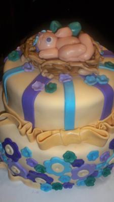 Robyn's nest cake