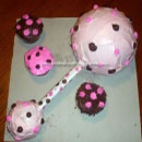 Baby Rattle Birthday Cakes
