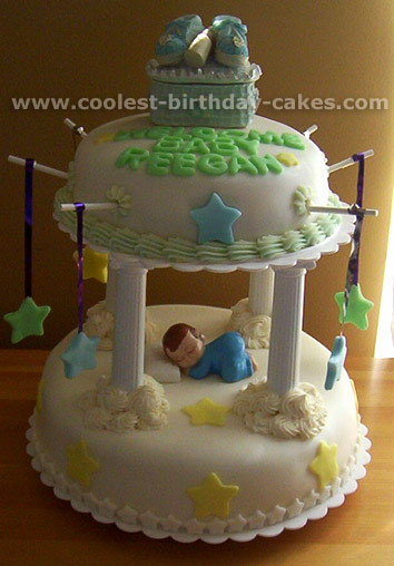 Baby Shower Cake Photo