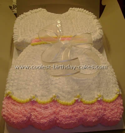 Coolest Homemade Baby Clothes Cakes