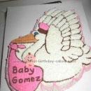 Stork Birthday Cakes