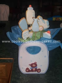 Pregnant Belly Baby Cake