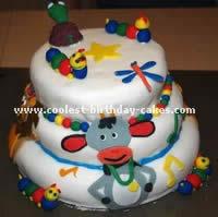 Baby Einstein Birthday Cake Photo