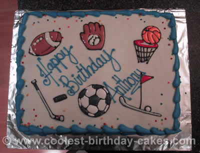 Sports Ball Cakes