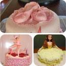 Ballerina Birthday Cakes