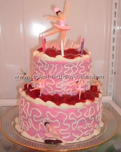 Ballerina Cake Photo