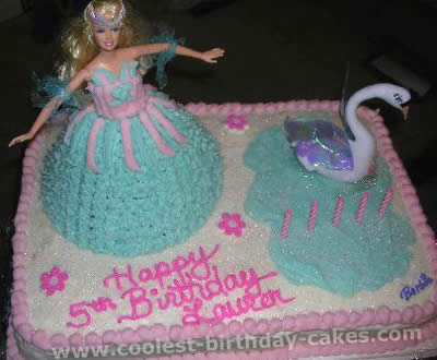 Barbie Cake Picture