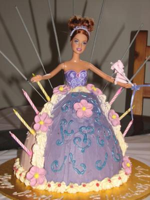 Lizzie's 7th Birthday Cake