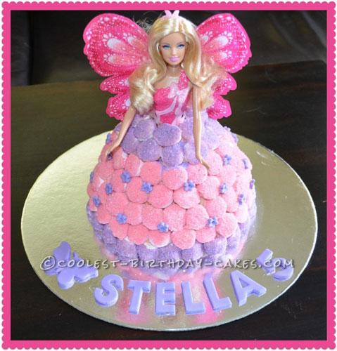 Coolest Dolly Varden Birthday Cake