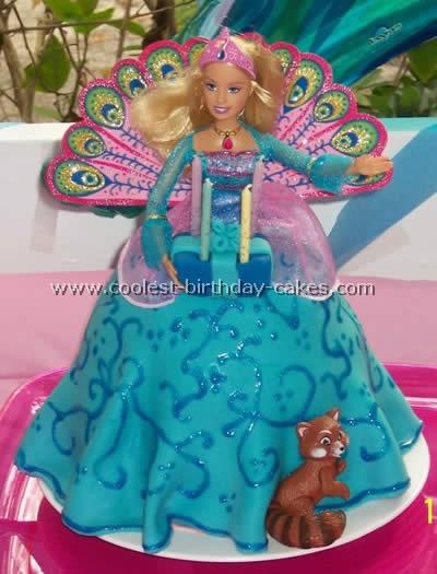 Barbie Doll Birthday Cake