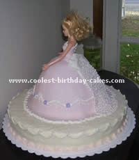 Barbie Skirt Cake