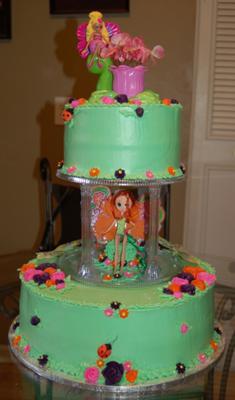 Barbie Thumbelina Chrysella Cake