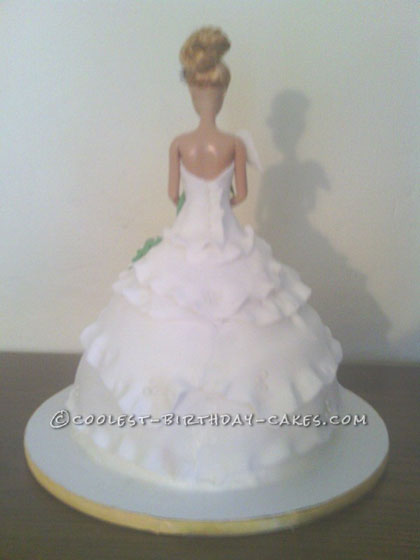 Cool Lily Barbie Cake