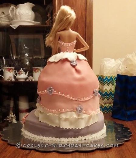 Cool Barbie Doll Cake