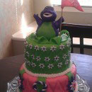 Barney and Friends Birthday Cakes