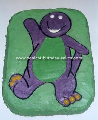 Coolest Barney the Dinosaur Cakes on the Web's Largest Homemade ...
