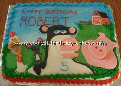 Coolest Barnyard Cakes