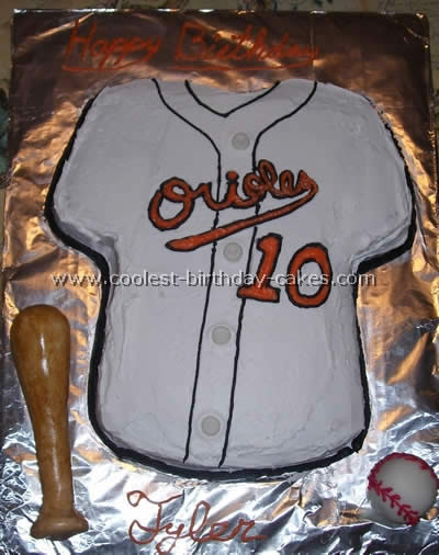 Coolest Baseball Birthday Cakes