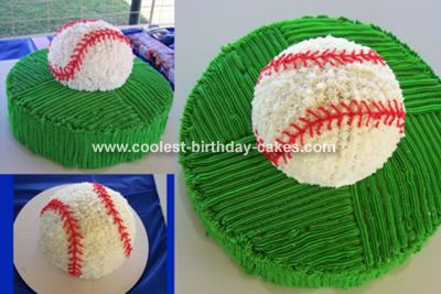 Baseball Birthday Cake on Baseball Cake 39