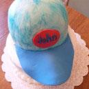Baseball Caps Birthday Cakes