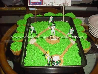 Coolest Baseball Cake