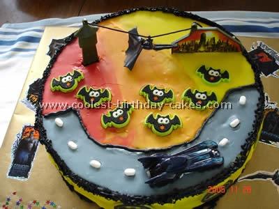 Batman Birthday Cake Picture