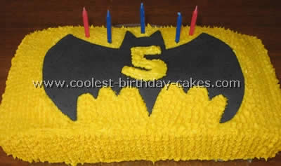 Coolest Batman Picture Cakes And Batman Birthday Cake