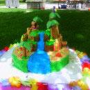 Luau Scene Birthday Cakes