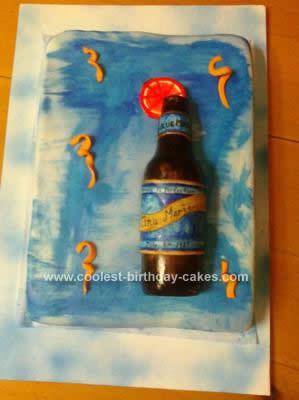 Coolest Beer Bottle Cake Design
