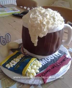 Coolest Beer Mug Cake