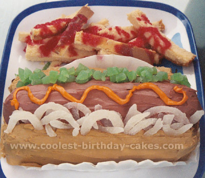 Coolest Hotdog Birthday Cakes For Dog Cake Houston