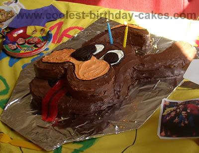 Wags the Dog Birthday Cake Decoration