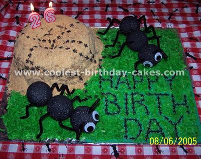 Ant Cake