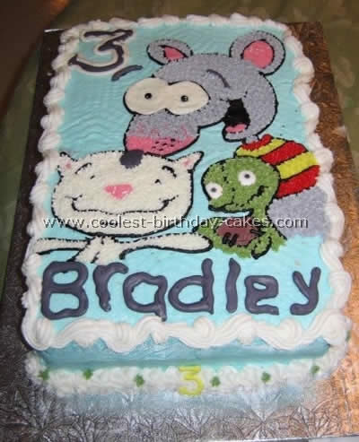 Birthday Cake Design For Kids 01